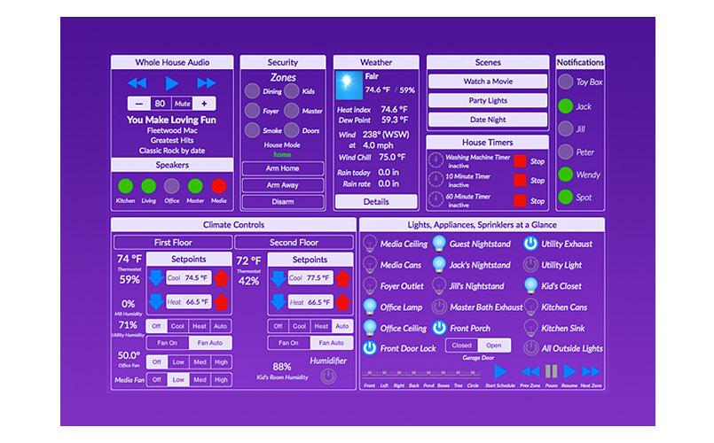 Indigo Touch - app domotica