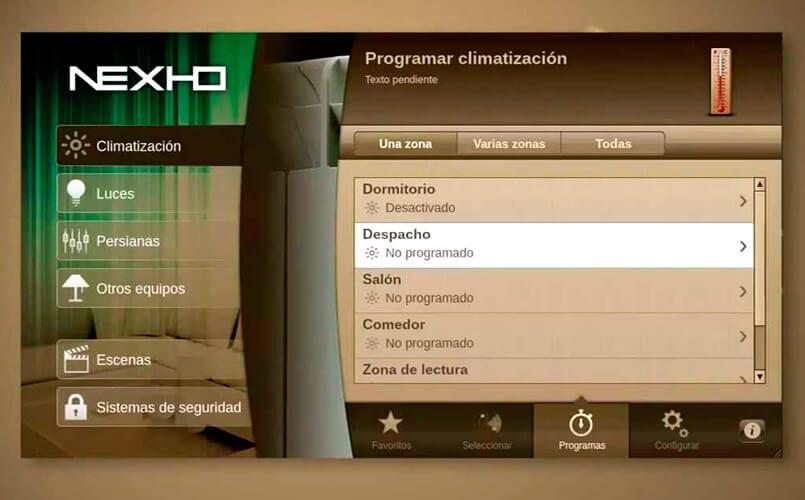 Nexho - app domotica