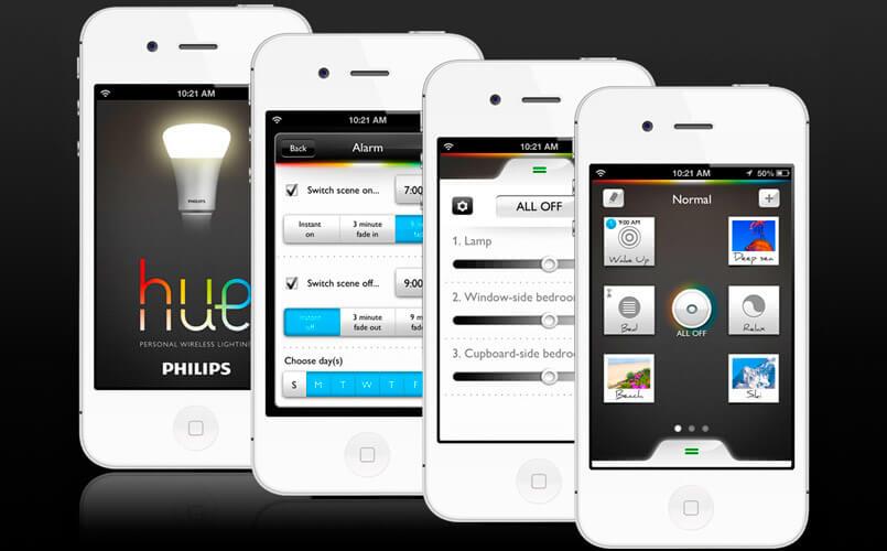 Philips Hue - app domotica