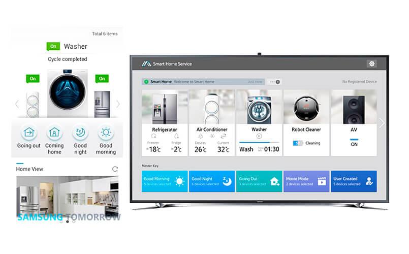 Samsung Smart Home - app domotica