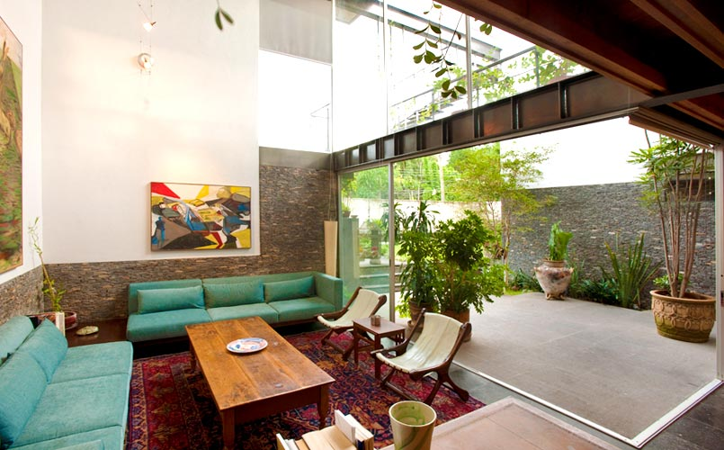 Diseños de doble altura - plantas