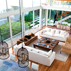 Diseños de doble altura que harán que quieras cambiar de casa