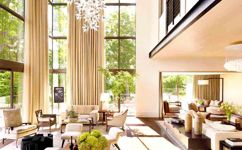 Diseños de doble altura - ventanales