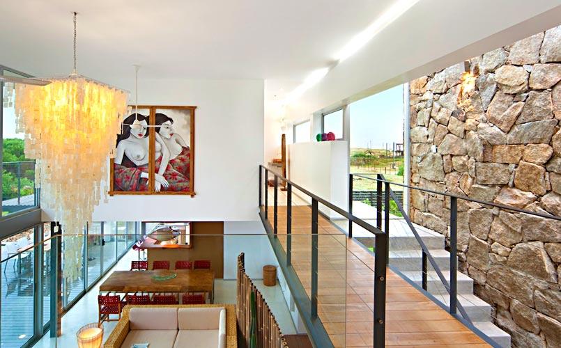 Diseños de doble altura - piedra